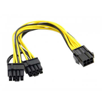 Splitter PCI 6pin - 2x 8pin...